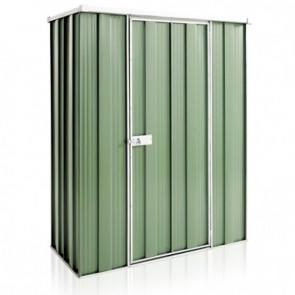 YardSaver Shed F42 - Single Door Flat Roof - 1.41m x 0.72m - Colour