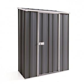 YardSaver Shed S42 - Single Door Skillion Roof - 1.41m x 0.72m - Colour