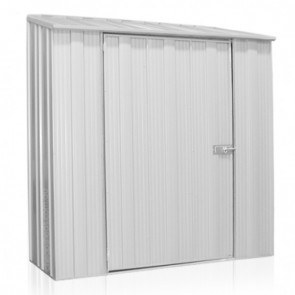 YardSaver Shed S52- Single Door Skillion Roof - 1.76m x 0.72m - Zinc