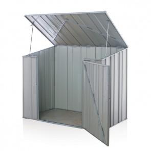 Storemate S53 Storage Unit - 1.76m x 1.07m x 1.265m - Zinc