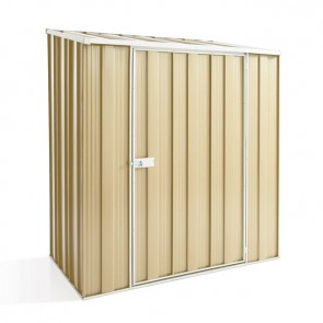 YardSaver Shed S53 - Single Door Skillion Roof - 1.76m x 1.07m - Colour