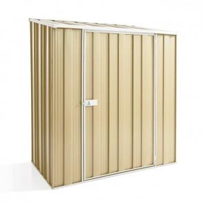 YardSaver Shed S53 - Single Door Skillion Roof - 1.76m x 1.07m - Colour