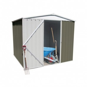 Regent Garden Shed - Single Door - 2.26m x 2.18m Colorbond