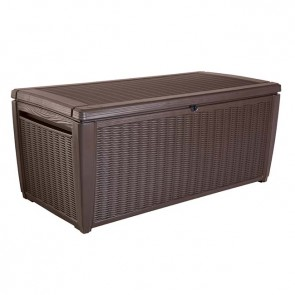 Keter 511L Sumatra Deck Storage Box - Chocolate