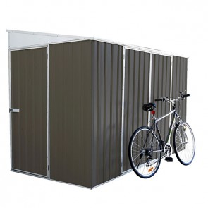 ECO Bike Shed - 3m x 1.52m x 1.95m - Grey