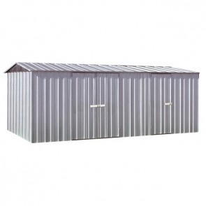 YardPro ECO Plus Workshop 1510 - Gable Roof - 4.5m x 2.8m - Zinc