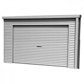 Smartlocker 1100 - Roller Door Shed - 3.6m x 1.1m Zinc