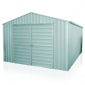 YardPro Portal Plus Workshop 360C - 3.6m x 5.4m - Cyclonic - Zinc
