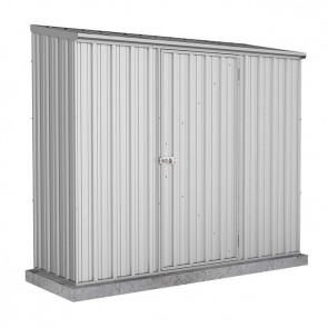 Spacesaver Shed - 2.26m x 0.78m - Single Door Zincalume