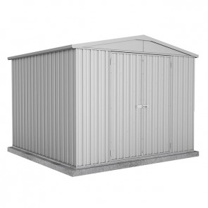 Highlander Garden Shed - Double Door 3m x 2.92m - Zincalume