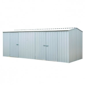 ECO-NOMY Shed - Triple Door - 5.22m x 2.26m Silver