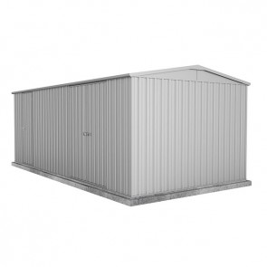 Highlander Garden Shed - Double Door 6m x 3m Zincalume