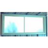 Sliding Perspex Window
